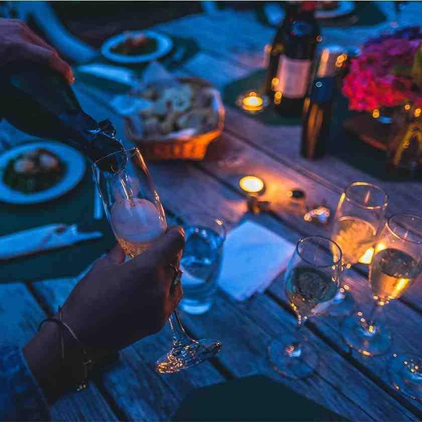 Quel accompagnement avec le champagne rosé ?