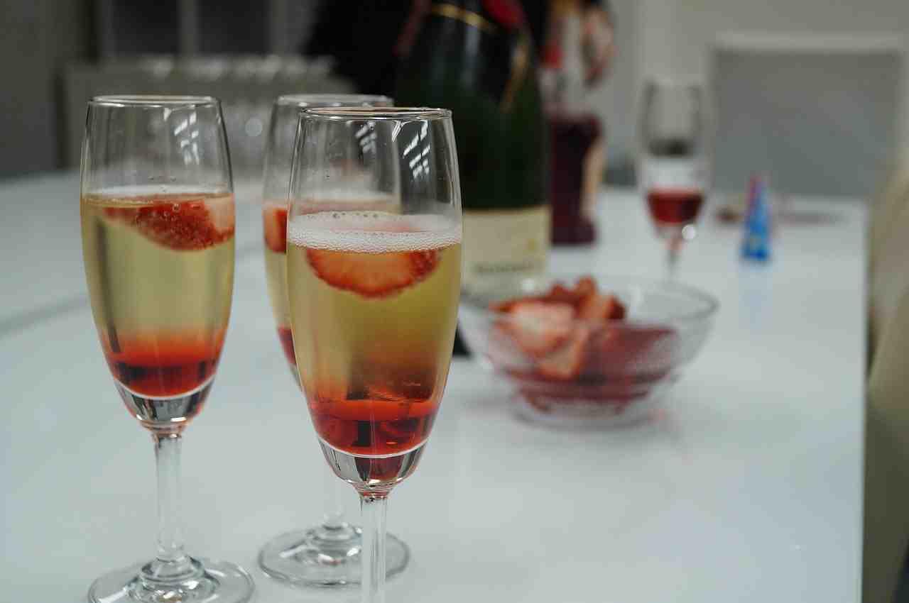 Quel aliment avec le champagne ?