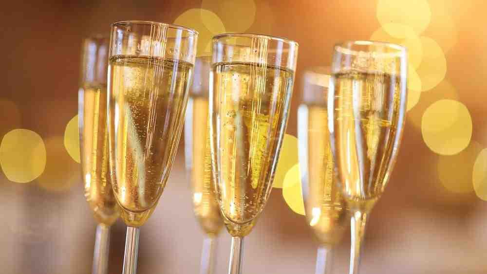 Quelle verrine avec du champagne ?