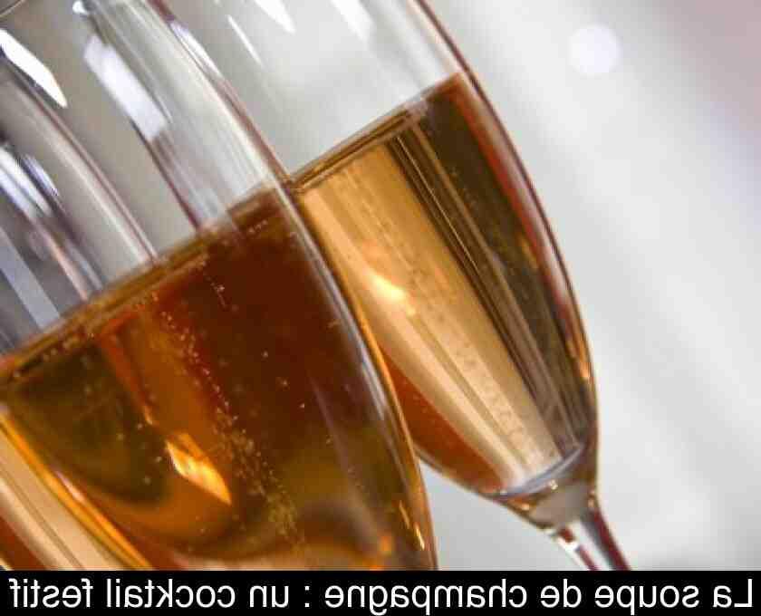 Quelle boisson pour remplacer le champagne ?